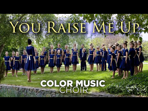 """""""You Raise Me Up"""" - cover by COLOR  Children&39;s Choir"""