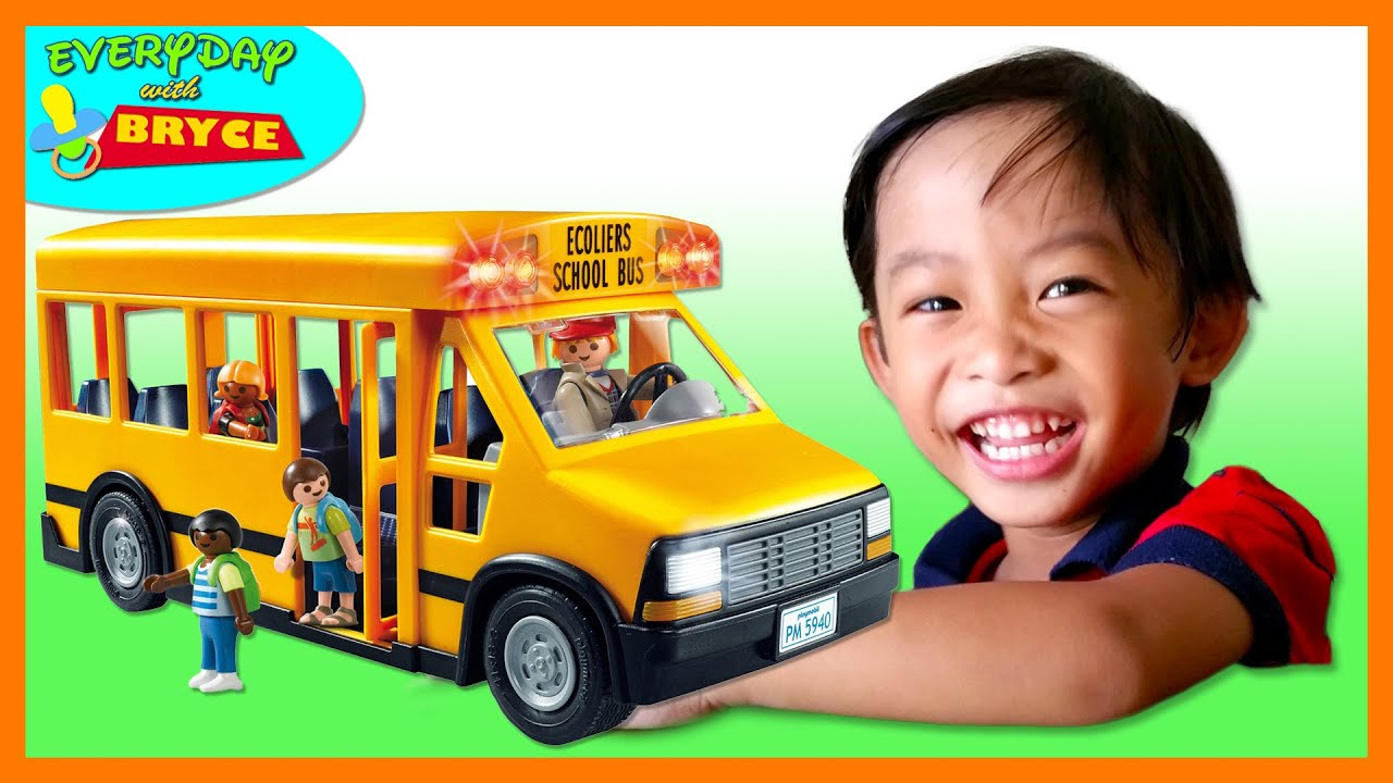 City Life School Bus By Playmobil From Toys R Us Youtube