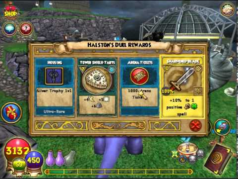 Wizard101 first place tournament prizes for students