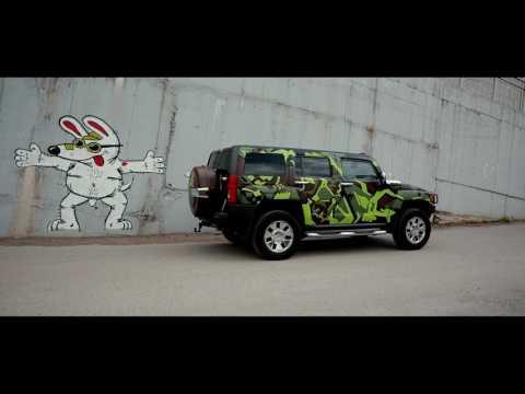 Дизайн оклейка Hummer H3 Skull FINALL ITSPROD