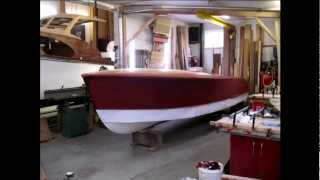 Riva Super Florida Restoration - Wooden boat restoration - Sea Sonic Boats
