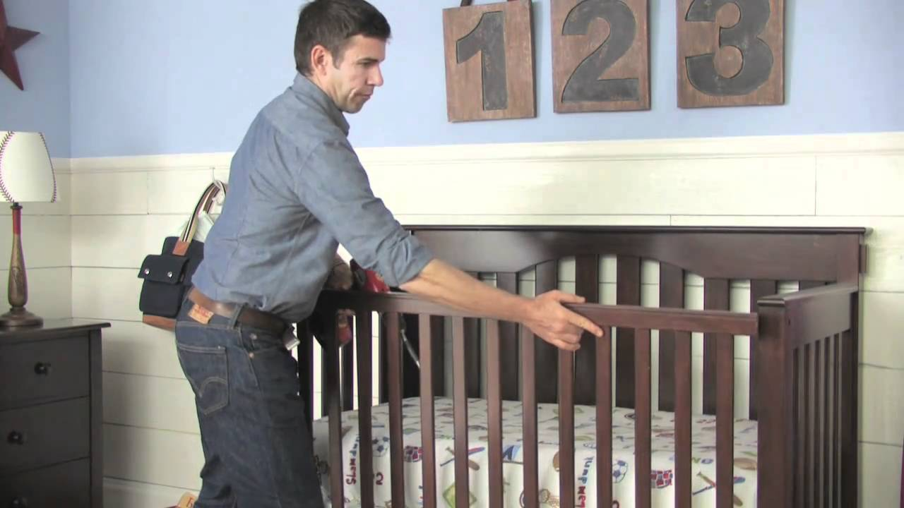How To Convert A Kendall Crib Into A Toddler Bed Pottery Barn Kids