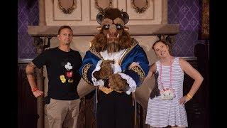 Disney Dinner Date Night! | Be Our Guest ALL NEW Pre Fixe Menu & Food Review!