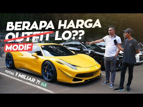Berapa Harga Outfit Lo Versi Anak Mobil! | Jakarta Meet Up 2019