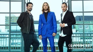 Thirty Seconds To Mars - Glamoholic Cover Shoot