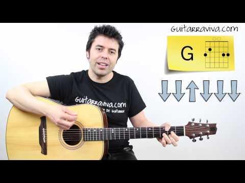 de musica ligera tutorial guitarra completo con acordes y ritmo de soda stereo