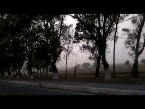 Heavy Wind Storm in Delhi