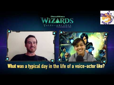 Eshaan M. interviews Colin O'Donoghue and Marc Guggenheim about Wizards: Tales of Arcadia