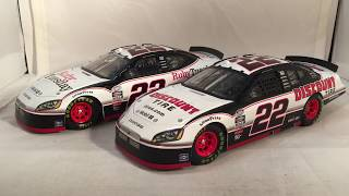 Review: 2010 Brad Keselowski #22 Discount Tire & Ruby Tuesday Dodge Charger 1/24 NASCAR CFS Diecast