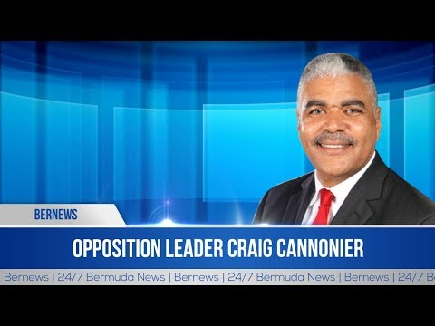 House | Opposition Leader Craig Cannonier | Economic Substance Bill | Dec 17, 2018