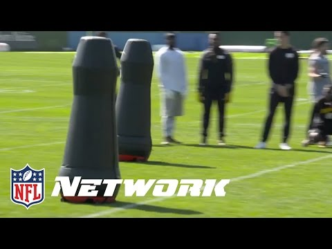 Steelers Experimenting with Robot Tackling Dummies | NFL