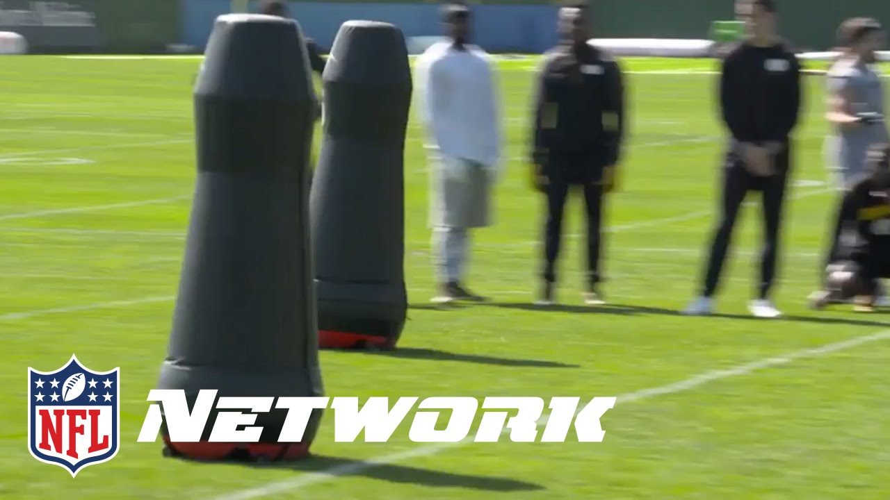 Steelers Experimenting with Robot Tackling Dummies   NFL - YouTube 920460ca84