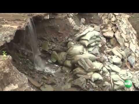RFA Myanmar on 01 Oct 2013,Gas pipeline causing environmental damages on Rakhine Mountain Ran