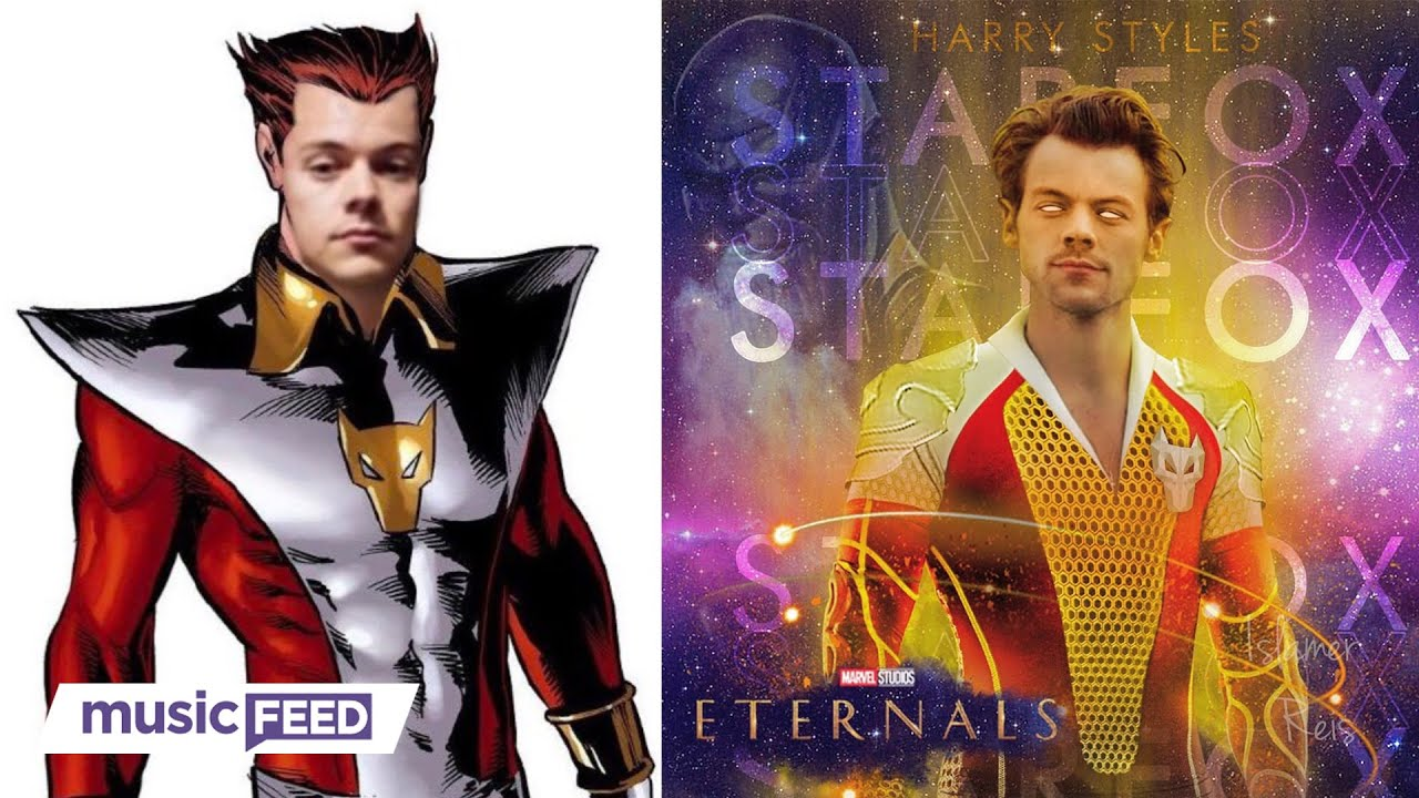 Harry Styles Is Apparently Joining the Marvel Cinematic Universe ...