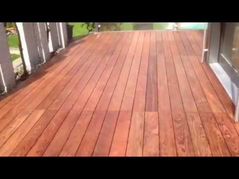 stauseeholz terrasse walaba youtube. Black Bedroom Furniture Sets. Home Design Ideas