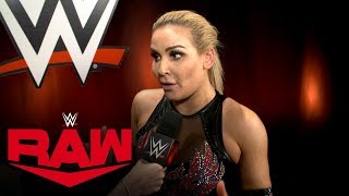 Why Natalya is on cloud nine: Raw Exclusive, Nov. 4, 2019
