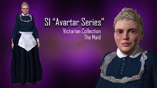 Sckript S1 Avatars , Victorian, the maid