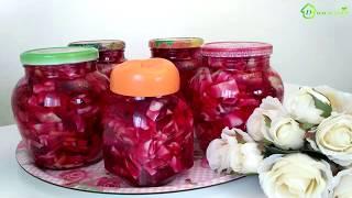 Рецепт маринованного салата из КАПУСТЫ и свеклы на зиму