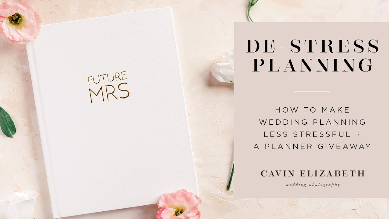 How To Make Wedding Planning Easier A Planner Book Giveaway