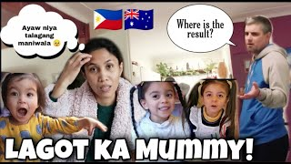 HINANAP NI MISTER ANG RESULTA NG BLOOD TESTS   DIY ACTIVITY PARA SA MGA BATA   Pinay Australian Vlog