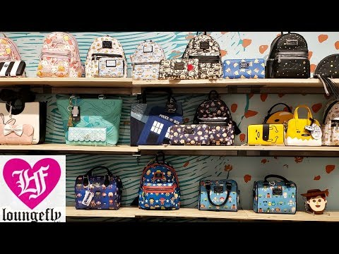PURSE SHOPPING * COME WITH ME * ATTIC SALT DISNEY LOUNGEFLY 2019