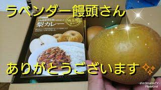 ラベンダー饅頭さんありがとうございます。梨カレー 埼玉県カレー