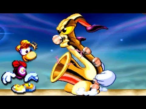 Rayman (PS1) All Bosses (No Damage)
