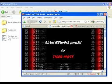 Airtel BD Hacked by Bangladeshi hacker TiGER-M@TE.avi