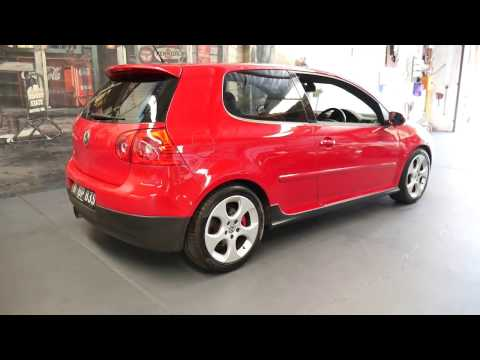 2007 Volkswagen Golf GTi 3 door with 101,000 klms