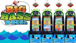 Big Bass Wheel Spin off! - Arcade Ticket Game