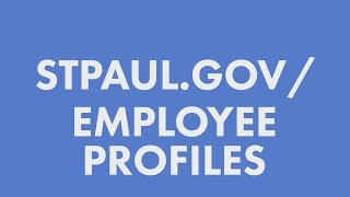 City Employee Profile Learning Tool