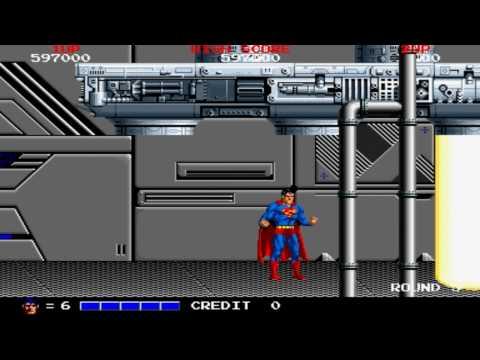 [HD] Superman Round 5 End 1988 Taito Mame Retro Arcade Games