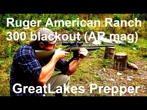 Ruger American Ranch 300blk**Watch Before Buying**