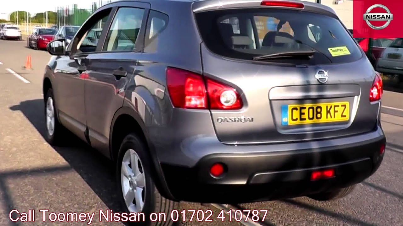 2008 nissan qashqai visia faded denim ce08kfz for sale at toomey nissan southend youtube. Black Bedroom Furniture Sets. Home Design Ideas