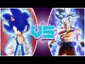 ULTRA SONIC vs ULTRA INSTINCT GOKU! Animated Movie | (Sonic vs Goku Animation) | REWIND RUMBLE