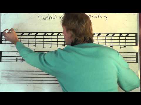How To Count Dotted 8th-16th Rhythms