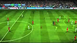 Fifa 14: gameplay: Crazy referee