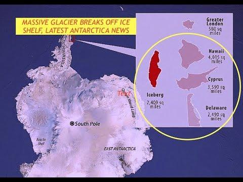 Antarctica, Iceberg Breaks Off Larsen C, Iceshelf, Half the Size of Hawaii & Hurricane Updates, late