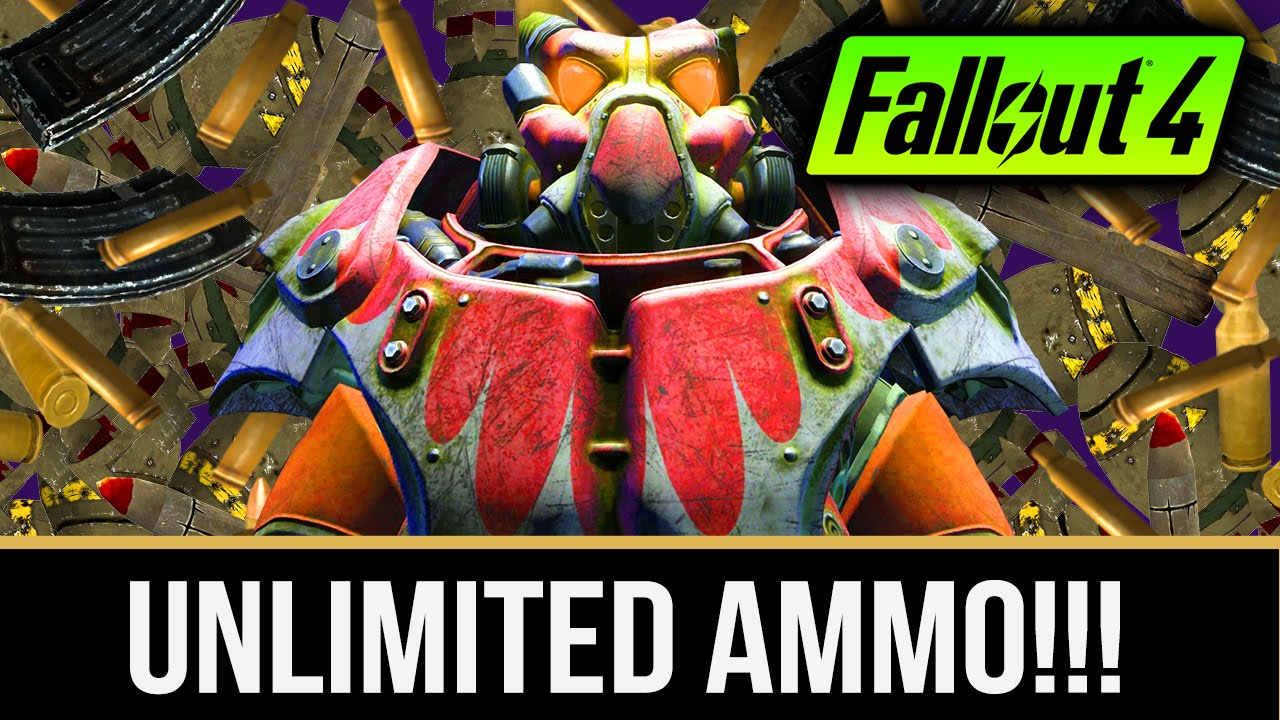 FALLOUT 4 UNLIMITED AMMO CHEAT How To Get Weapon