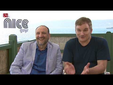 Interview Joel Silver & Shane Black THE NICE GUYS Cannes 2016