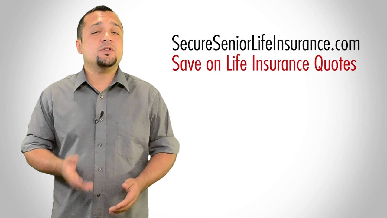 Joint Life Insurance Quotes Life Insurance For Seniors Over 90  Available  Youtube