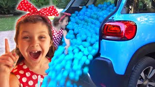 Finger Family Colors kids songs | Learn colors with colored balls by Chiki-Piki