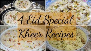 4 Eid Special Kheer Recipes | Make this recipe on this Eid |