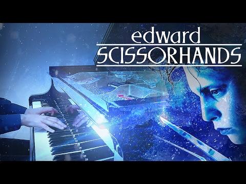 """Ice Dance"" - Tim Burton's Edward Scissorhands [HD Piano Cover, Movie Soundtrack, OST]"