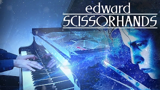 ice dance tim burtons edward scissorhands hd piano cover movie soundtrack ost