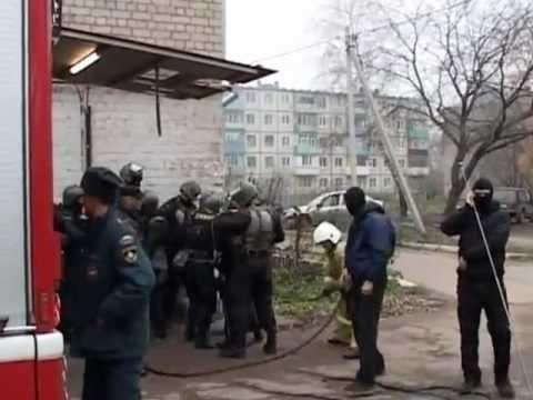 Бой спецназа в Казани