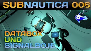 SUBNAUTICA [006] [Lifepod3 - Databox & Signalboje] Let's Play Gameplay Deutsch German thumbnail