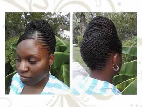 The Braiding Studio By Ekua Cornrows Flat Twists Braided