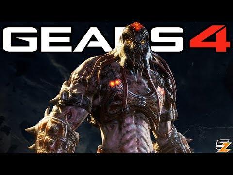 Gears of War 4 - Locust Skorge Character Teaser Trailer First Look!