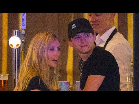 Tom Holland Packs On the PDA With Someone Who's NOT Zendaya